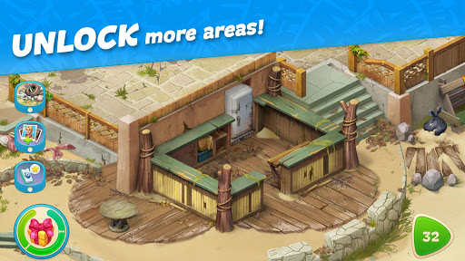 Hawaii Match-3 Mania Home Design & Matching Puzzle apkpoly screenshots 19