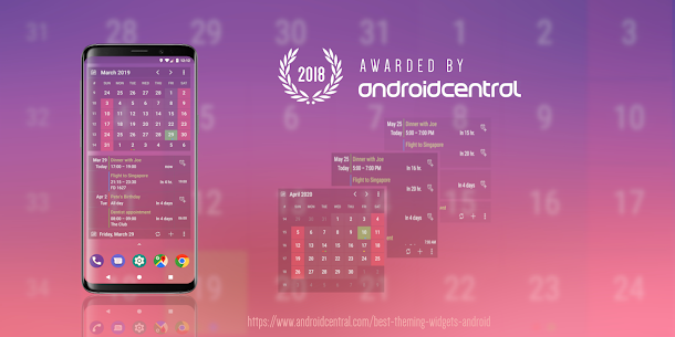 Calendar Widget: Month + Agenda Mod Apk v6.3033 (Pro) 1