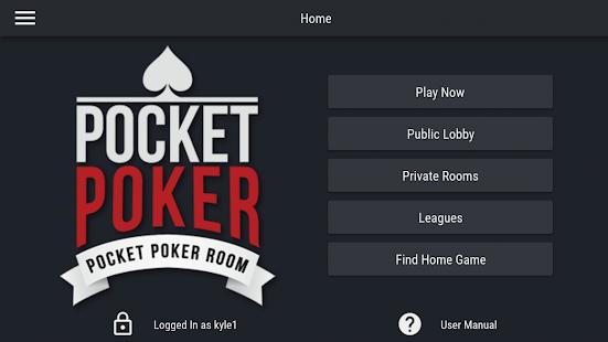 Pocket Poker Room 1.3.4 Screenshots 3