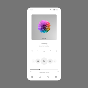 Aurora – Material Poweramp v3 Skin MOD (Paid) 2