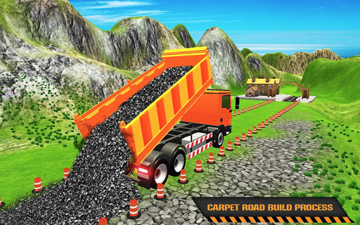 Highway Construction Road Builder 2020- Free Games 2.0 screenshots 1