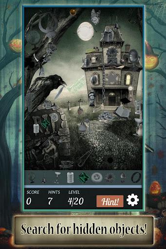 Hidden Object: Halloween House apkmr screenshots 1