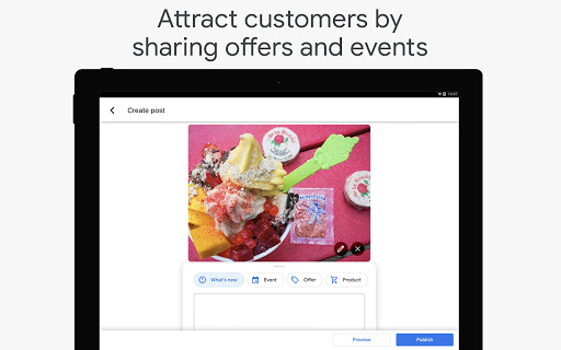 Google My Business - Connect with your Customers 3.33.0.346655744 Screenshots 7