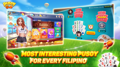 Pusoy Go-Free Tongits, Color Game, 13 Cards, Poker  screenshots 2
