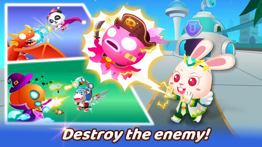 Little Panda's Hero Battle Game  screenshots 4