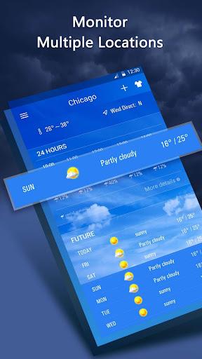 Weather Forecast App 16.6.0.6271_50157 Screenshots 4