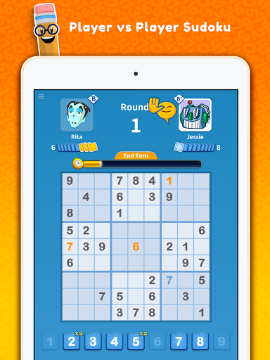 Sudoku Scramble - Head to Head Puzzle Game apkpoly screenshots 19