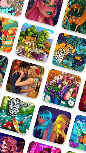 Paint.ly Color by Number - Fun Coloring Art Book 2.1.6.4 screenshots 6