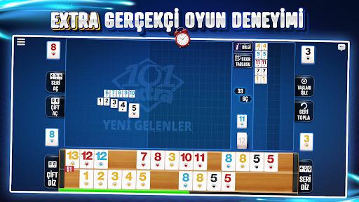 101 Yu00fczbir Okey Extra Apkfinish screenshots 2