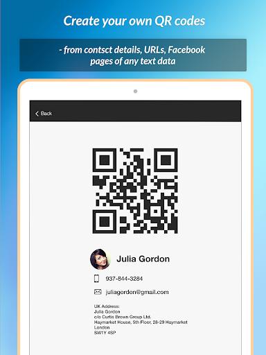 QR Scanner & Barcode reader  Screenshots 8