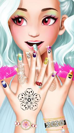 Nail Salon : Nail Designs Nail Spa Games for Girls  screenshots 1