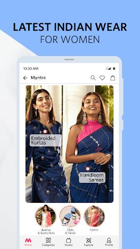 Myntra Online Shopping App - Shop Fashion & more apktram screenshots 3