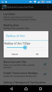Quick Arc Launcher ( Smart One Swipe Launcher ) v2.4.0 [Paid] 5