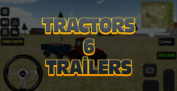 Tractor Driving Game 2021 Farming Real Life Apk 3