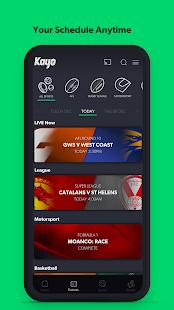 Kayo Sports - for Android TV screenshots 6