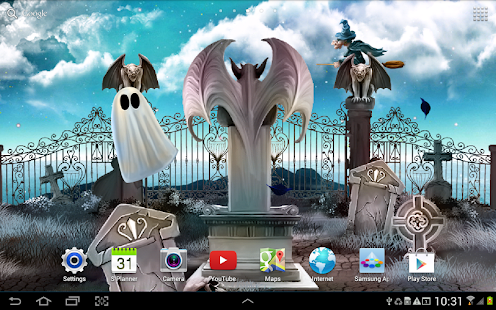 Halloween Live Wallpaper Screenshot