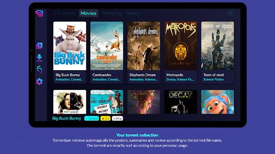 Torrentium TV – Stream and manage torrents 1
