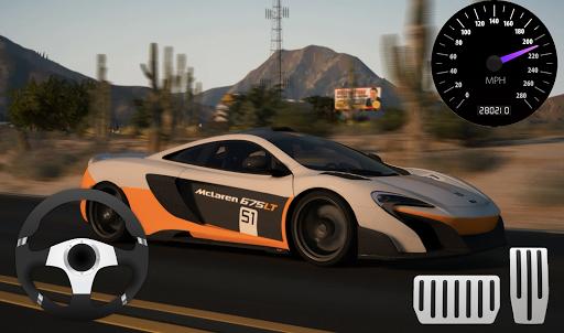 Race Car McLaren P1 Parking screenshots 2