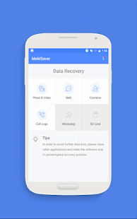 EaseUS MobiSaver - Recover Video, Photo & Contacts Screenshot