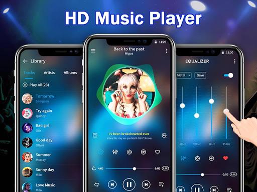 Music Player - Audio Player & Powerful Equalizer  screenshots 1