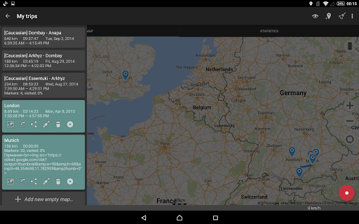 Geo Tracker - GPS tracker 4.0.2.1750 Screenshots 10