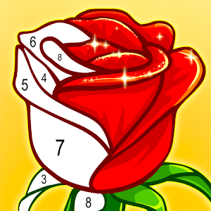 ColorPlanet Paint by Number, Free Puzzle Games