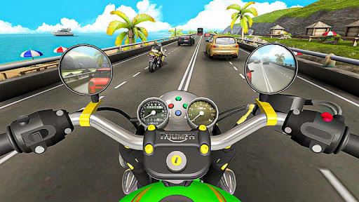 Racing In Moto Traffic Stunt Race 1.20 screenshots 8