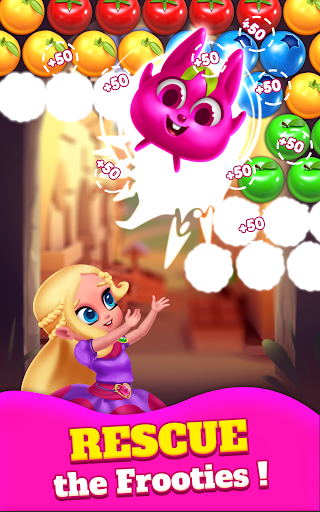 Bubble Shooter Princess Pop - Balloon & Ball Blast 5.3 screenshots 11