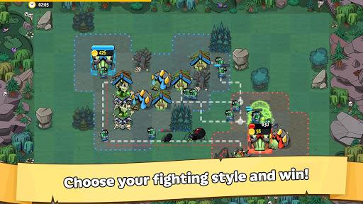 Like a King RTS: 1v1 Strategy screenshots 8