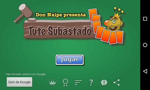 Tute Subastado 1.3.3 screenshots 2