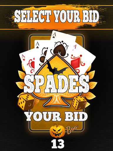 Spades - Classic Card Game! android2mod screenshots 9