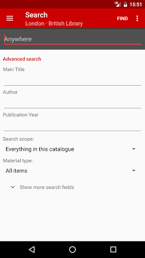 Web Opac: 1,000+ libraries 6.2.8 screenshots 1