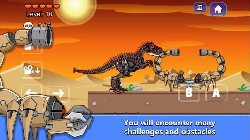 T-Rex Dinosaur Fossils Robot Age 2.6 screenshots 2
