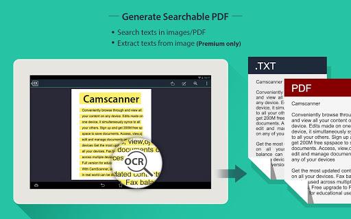 CamScanner HD - Scanner, Fax 3.2.0.20140327 Screenshots 15