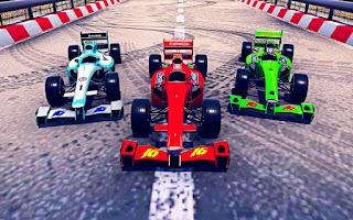 Superhero Formula Car Stunts: Mega Ramp Stunt Game