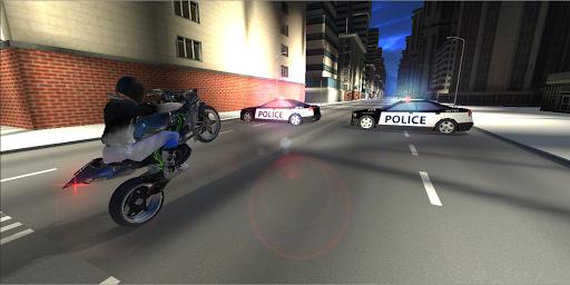 Télécharger Wheelie King 3 - Motorbike Wheelie Challenge 3D mod apk screenshots 4