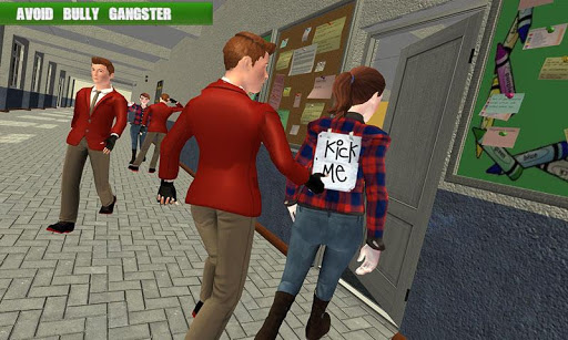 High School Gangster Bully Fights Karate Girl Game apklade screenshots 2