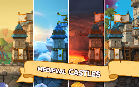 Hustle Castle: Medieval games in the kingdom 1.34.1 MOD APK (MOD High Damage) 1
