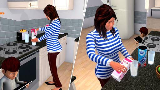 Family Simulator - Virtual Mom Game APK MOD (Astuce) screenshots 2