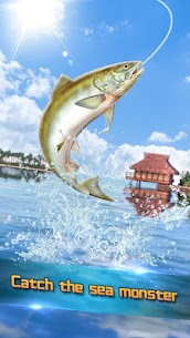 Real Fishing – Ace Fishing Hook game MOD APK 1.1.1 (Unlimited Hook) 2
