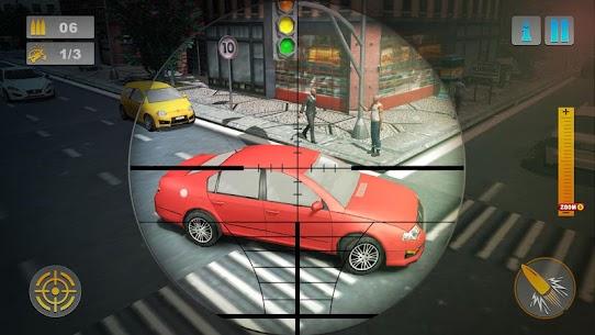 City Traffic Sniper Shooter 3