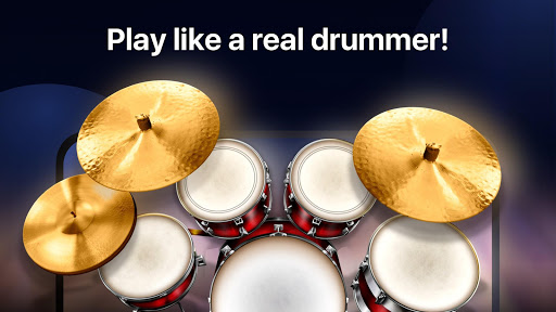 Drums: real drum set music games to play and learn Apk 1