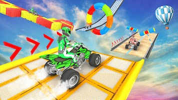 ATV Quad Bike Racing : GT Car Stunt Game 2021