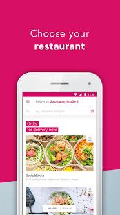 foodora - Local Food Delivery 21.14.0 Screenshots 1