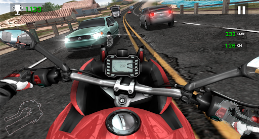 Moto Rider In Traffic apkpoly screenshots 5
