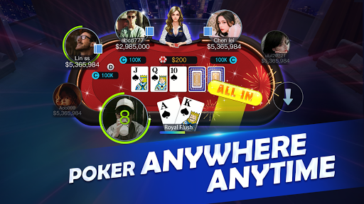 APG-Texas Holdem Poker Game android2mod screenshots 6