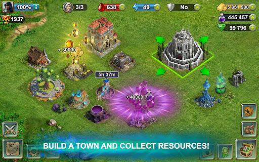 Blood of Titans: Quest & Battle Fantasy ccg 1.19 screenshots 18