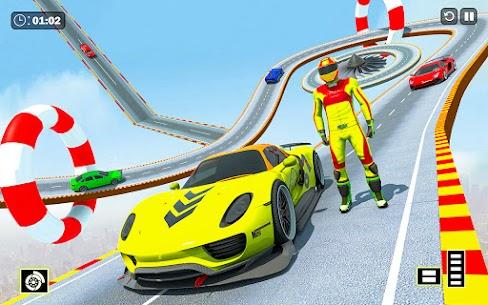 Free Crazy Ramp Car Stunts :Mega Ramp Stunt Games 5