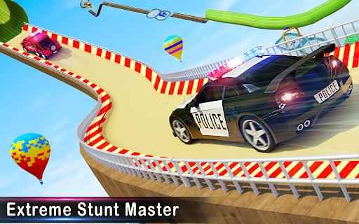 Police Ramp Car Stunts GT Racing Car Stunts Game android2mod screenshots 9