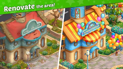Télécharger Matchland - Build your Theme Park mod apk screenshots 3